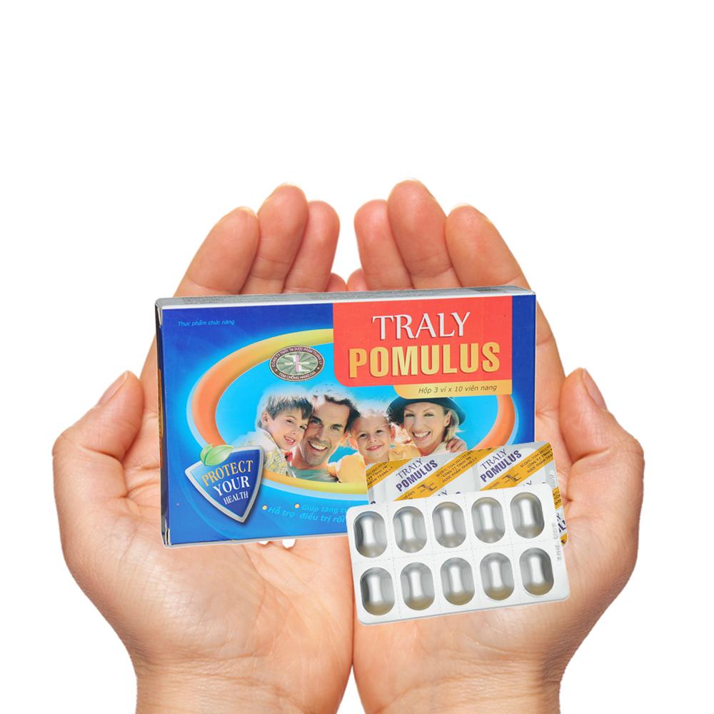 TRALY POMULUS - giúp giải độc bảo vệ hệ miễn dịch cho cơ thể