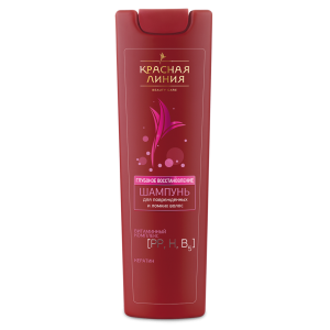 KRASNAYA LINIYA Shampoo DEEP RESTORATION for the injured hair 1