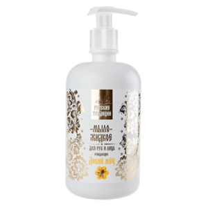 Russian Traditions Liquid soap for face and hands Wild Honey